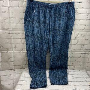 Reitmans slim ankle printed pants
